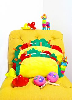 Easy DIY Taco Pillow