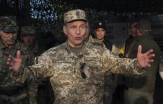 Ukrainian media reports said that Defence Minister Geletei had made this statement upon return from talks in Poland