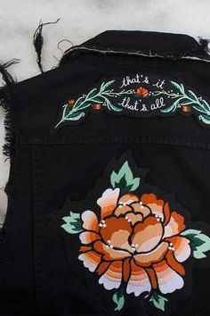 That's It Iron-On Back Patch