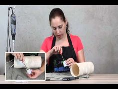 Luminária em PVC - Aula 3: Instalação Elétrica - YouTube Pvc Pipe Crafts, Fun Crafts, Diy And Crafts, Pvc Projects, Diy Projects To Try, Pipe Lighting, Auto Glass, Light Crafts, Animal Design