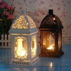 Free shipping fashion metal lantern candle holder wedding gift home decoration Farol de metal