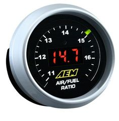 2 52mm Air Fuel Ratio Gauge 7 Color Racing Gauge Lcd Digital Display Car Meter Multiple Colors Reliable Performance Gauges