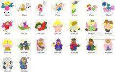 Coleção De Bordados Computadorizados Bebês Anjinhos #03 - R$ 9,90 no MercadoLivre