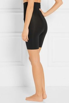 Spanx - Thinstincts High-rise Shorts - Black - x large