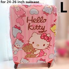 """Cute Little Twin Stars Luggage Protector Suitcase Cover Bags Dust-proof 24/""""-26/"""""""