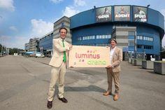 """KRC Genk speelt de volgende vier jaar in de """"Luminus Arena"""""""