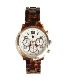 tortoise shell watch. cute and inexpensive.