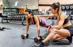 How to Become a Personal Fitness Trainer   LoveToKnow Beginner Gym Workout Routine, Best Gym Workout, Gym Workout Plan For Women, Gym Workouts Women, Workout Plan For Beginners, Fun Workouts, Workout Ideas, Workout Exercises, Exercise Schedule