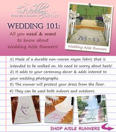 All you ever needed to know about Wedding Aisle Runners