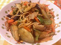 本日の晩ごはんヽ(´▽`)/ - 14件のもぐもぐ - 野菜たっぷりナポリタン by yaki411