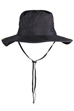 JIERKU black bucket sun hat brimmed golf hat sun hat boonie mens beach hat Black   http://huntinggearsuperstore.com/product/jierku-bucket-hat-wide-brim-hunting-fishing-outdoor-camping-cap-men-women/?attribute_pa_color=black