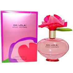 This light-hearted Oh Lola! Fragrance from Mark Jacobs is flirtatious and charming to leave you feeling light-hearted and youthful. This perfume comes in a 3.4-ounce eau de parfum spray.