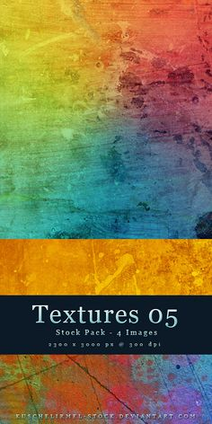 Colorful Textures // 300+ free backgrounds and textures