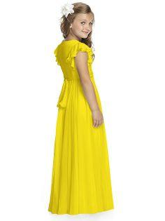 Flower Girl Dress FL4038 http://www.dessy.com/dresses/bridesmaid/fl4038/?color=Citrus&colorid=1284#.Uvfup_l_vt8