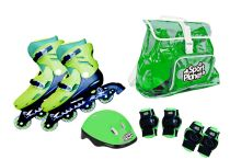 Set Patines en Línea Verde T.37-40 Nerf, Toys, Sports, Activity Toys, Games, Toy, Beanie Boos