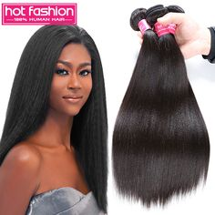 Find More Human Hair Extensions Information about 2016 Grade 7A Unprocessed Brazilian Virgin Straight Hair Kinky Straight Hair Weave 4 Bundles Cheap Brazilian Halo Lady Hair,High Quality hair clips for thick hair,China hair color african american hair Suppliers, Cheap hair steamer from Hot Fashion Hair Products Co.,Ltd  on Aliexpress.com
