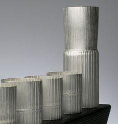 Grant McCaig - Folded Silver Drinking Set