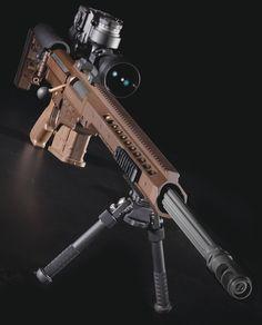 Barrett Multi-Role Adaptive Design (MRAD) rifle.
