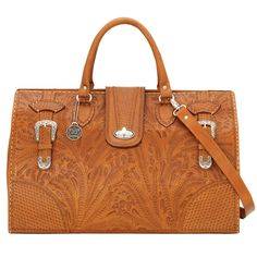 American West Golden Tan Commemorative Collection Large Hard_Sided Doctor's Bag - HeadWest Outfitters