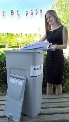 En determinados lugares se puede decidir cargar los contenedores sacando la tapa