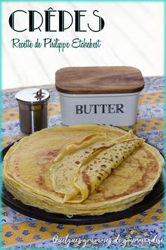 Crepes by Philippe Etchebest A Few Grams of Delicacies