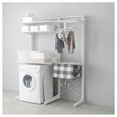 IKEA - ALGOT, Post/foot/drying rack