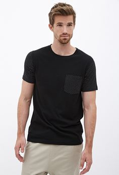 Dotted Pocket Tee