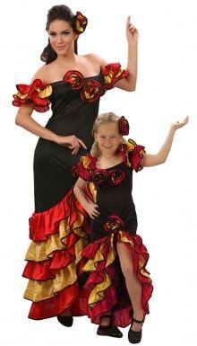 Costume coppia ballerina flamenco madre e figlia http://www.vegaoo.it/costume-coppia-ballerina-flamenco-madre-e-figlia.html