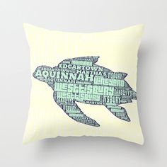 Aquinnah Sea Turtle Martha's Vineyard by BrandiFitzgerald on Etsy, $34.99