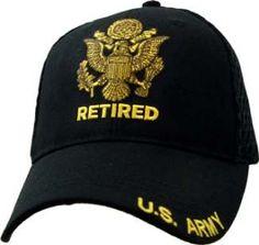 5745d741b01 U.S. Army Retired Mesh Hat  19.95- adjustable Army Retirement