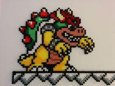 Bowser - Mario hama beads by drakan: