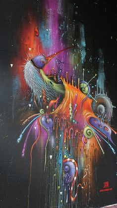 UCON // STREET ART / CANVAS ART / GRAFFITI //