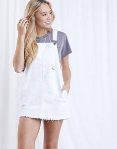 adcb00a802e Bailey Denim Overall Dress. Denim Pinafore OutfitPinafore DressDenim  Overall DressWhite ...