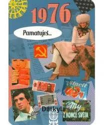 Narozeninové přání Retro - 1976