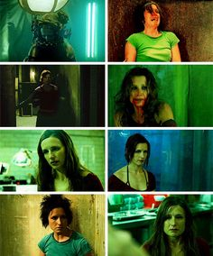 Amanda Young- such character development from Saw to Saw III. The amazing Shawnee Smith does such an amazing job with such a complex character! Saw Series, Shawnee Smith, Amanda Young, Game Tester Jobs, First Video Game, Video Game Industry, The A Team, Movie Photo, Macabre