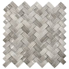 Show 3d polished grey basket weave stone tile. From tile outlet , for around a fireplace  maybe