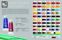 Grumbacher MAX Water Miscible Oil Paint