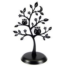 Owl Jewelry Tree - {nice} idea for JB's.  Hollyberrydesigns.origamiowl.com