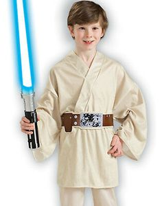 Luke Skywalker Child Costume Large * Click image for more information. (This is an affiliate link). Kids Star Wars Costumes, Great Halloween Costumes, Halloween Kids, Children Costumes, Star Wars Party Decorations, Blaster Star Wars, Star Wars Princess Leia, Star Wars Luke Skywalker, Star Wars Kids