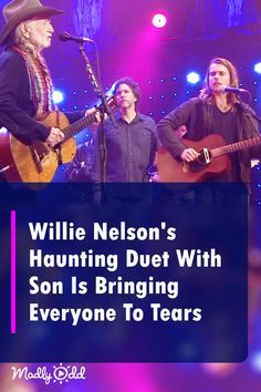 Willie Nelson's Haunting Duet With Son Is Bringing Everyone To Tears