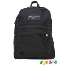 JANSPORT SUPERBREAK BACKPACK SCHOOL BAG- Black-T501-008.  $45.00            Head out the door with everything you need in the JanSport® Superbreak Backpack.  It features straight-cut, padded shoulder straps and a padded back panel for added comfort when you are carrying your belongings.  The one large main compartment makes packing and unpacking eas...