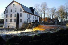 Ulva kvarn. Uppsala, Sweden, Mansions, House Styles, Home Decor, Luxury Houses, Interior Design, Home Interior Design, Palaces