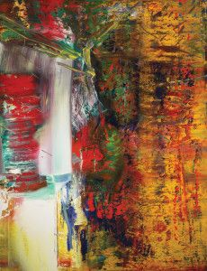 Gerhard Richter, Untitled, 1986, acrylic on canvas. Collection of Preston H. Haskell. Photograph courtesy of Douglas J. Eng. c 2015 Gerhard Richter.