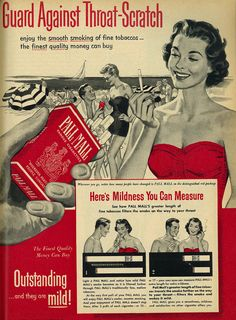vintage everyday: 18 Funny Vintage Advertisements of Cigarette from the 1950s to 1970s