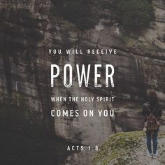 bible verses on the power of the Holy Spirit Bible Verses Quotes, Bible Scriptures, Godly Quotes, Scripture Verses, Acts 1 8, Holy Spirit Come, Holy Spirit Images, Holy Spirit Quotes, Acts Of The Apostles