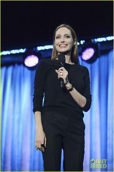 Angelina Jolie: I Frightened Kids on the 'Maleficent' Set!