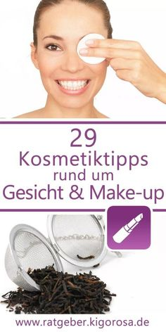 29 Cosmetic tips for face and make-up - whether cucumber mask or make-up remover, here you will lear Diy Beauty, Beauty Hacks, Beauty Tips, Cucumber Mask, Homecoming Makeup, Make Up Remover, Girls Makeup, How To Apply, How To Make