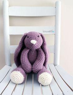#crochet, free pattern, amigurumi, stuffed toy, Easter Bunny, #haken, gratis patroon (Engels), konijn, knuffel, speelgoed, #haakpatroon