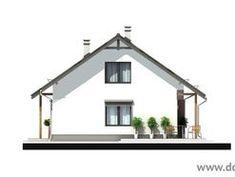 Elewacja Mój Dom w Dolinie 2 CE Tiny House, Gazebo, Yard, Outdoor Structures, Cabin, House Styles, Home Decor, Arquitetura, Kiosk