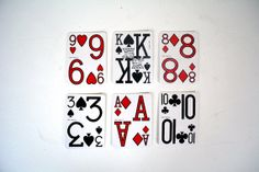 1987 Low Vision Playing Cards  Poker Size  by NotYourGrandmasHouse, $1.50